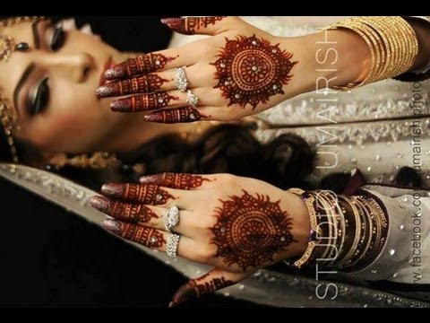Bridal Hathphool Henna/Mehendi Design : Learn Traditional Indian Bridal Henna