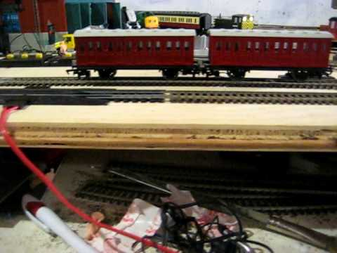 updated Bachmann Thomas model projects: Red branch line coaches finished