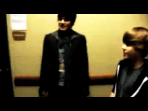 Adam Lambert, Boys Like Girls, and Justin Bieber Handshake!!!