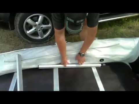 как собрать лодку пвх с жестким дном видео