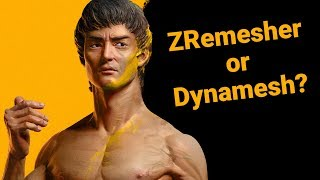 When Should I Use Dynamesh and ZRemesher?