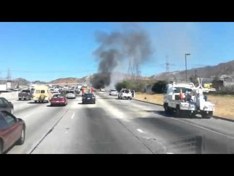 Vehicle Fire Santa Clarita