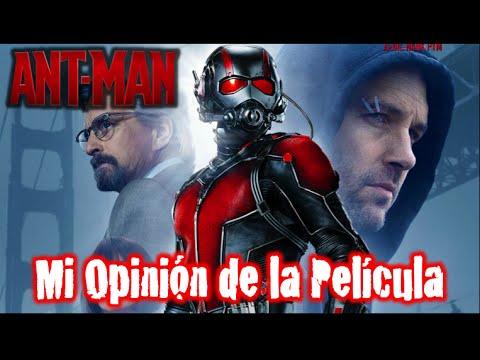 Pelicula de Ant-Man HOMBRE HORMIGA (SIN SPOILERS) Super Heroes Marvel