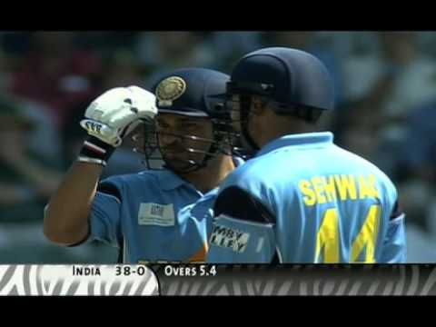 2011 Cricket World Cup Tribute to Sachin Tendulkar - Master Blaster by Arnie B