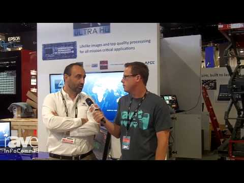 InfoComm 2014: Gary Kayye Interviews Analog Way's Adrien CORSO About Installation, Rental Staging
