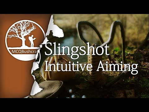 Hunting: Slingshot Aiming Techniques (Intuitive)