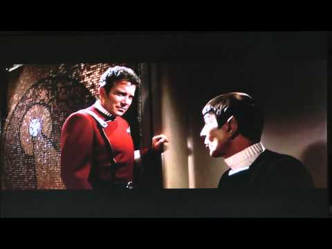 Spock & Kirk discuss friendship, logic, and life