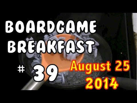 Board Game Breakfast: Episode 39 - It's Just a Game
