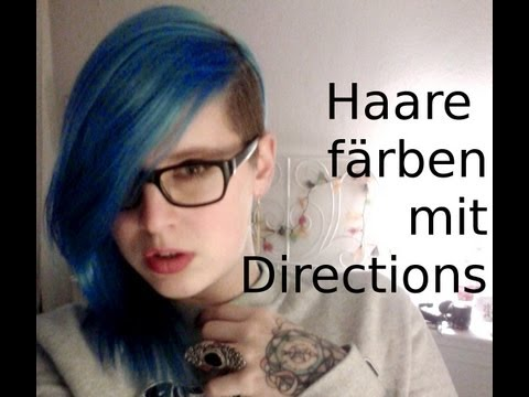 How to: Haare färben mit Directions (for Dummies)