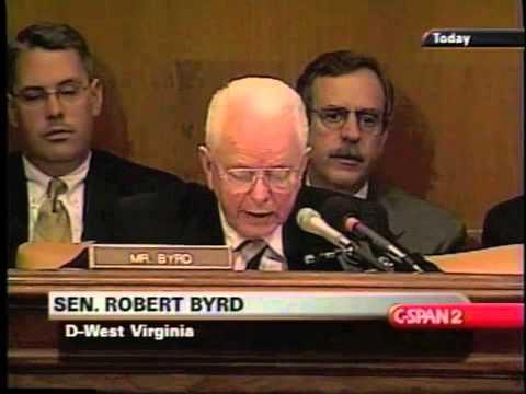 Sen. Robert Byrd Questions Donald Rumsfeld About 9/11 - 5/16/2002