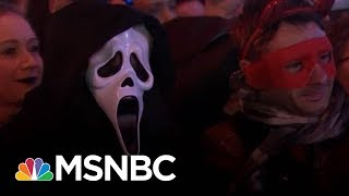 New York City Halloween Celebrations Defy Act Of Terror   Morning Joe   MSNBC