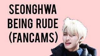 ATEEZ Seonghwa being extremely rude for 1 minute and 52 seconds