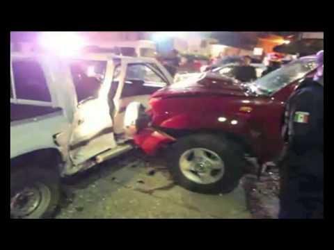 Índice de accidentes automovilísticos, un problema de salud pública