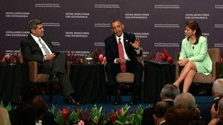 President Obama Speaks at Forum on Sustainable Economic Development