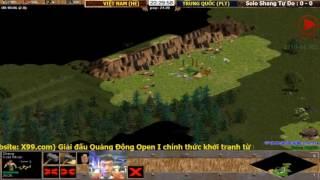 Bán Kết 1 (Shang Đoàn Thể): VIỆT NAM ĐỎ vs VŨ TRỤ 1