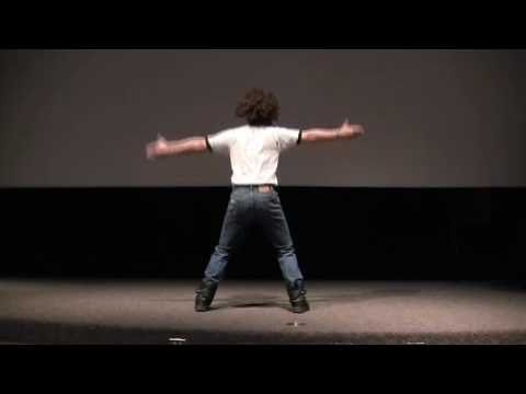 College Professor does the Napoleon Dynamite dance!