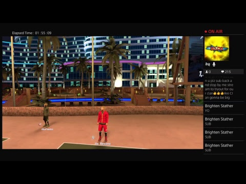 NBA 2K17 playing my park $$