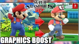 Super Smash Bros. Ultimate Graphics Comparison! (GC, Wii, Wii U vs. Switch!)