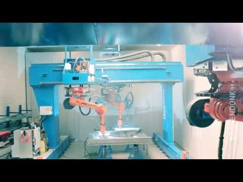 Web welding - robot welding of micro panels for shipbuilding