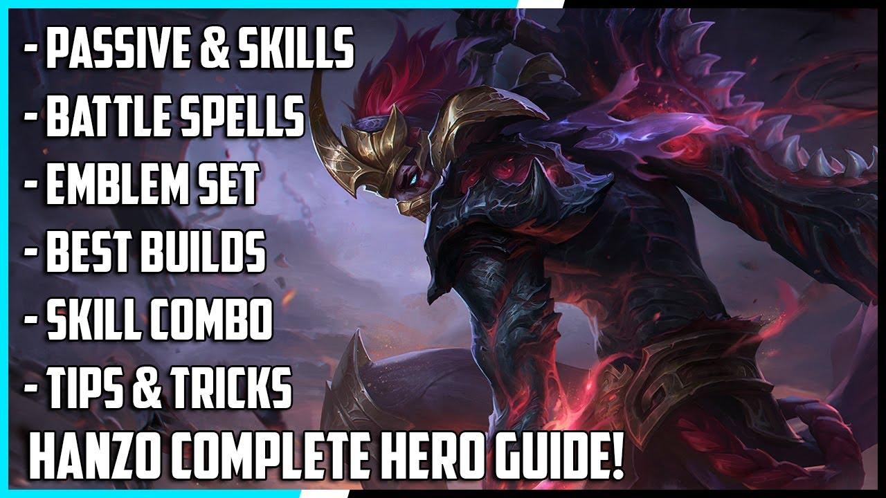 New Hero Hanzo Complete Guide! Best Build, Spells, Skill Combo, Tips & Tricks | Mobile Legends