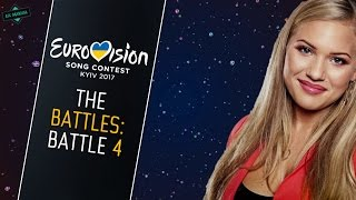 BATTLE 4: Best Song of Eurovision (2017) • The Battles • [CLOSED!]