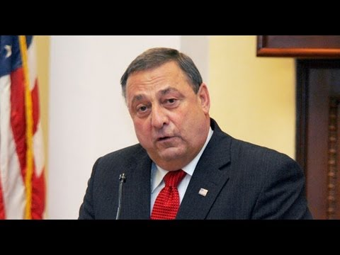 IRS = Gestapo Says Maine Governor Paul LePage