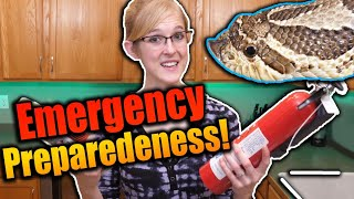 Reptile Owners: How to Plan for Emergencies!