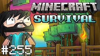 Minecraft : Survival - Kopi's Birthday Party - #255