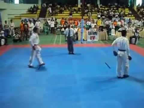 Karate Kumite Sandy Firmansyah  2012 Menado video