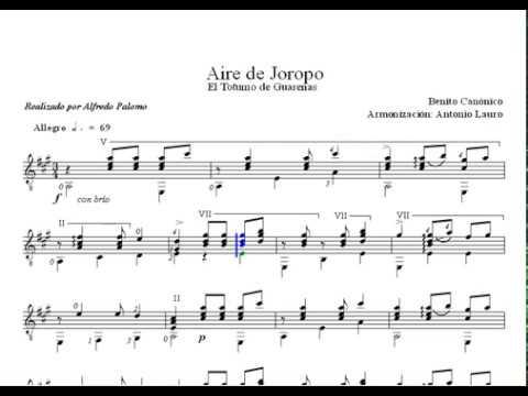 Antonio Lauro - Aire De Joropo El Totumo De Guarenas