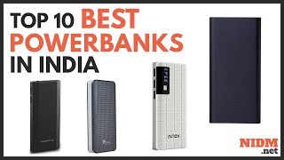 ✔️ Top 10 Best Power Banks in India 2019 - Reviews with Prices