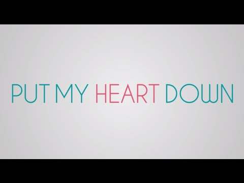 Sara Evans - Put My Heart Down - Lyric Video