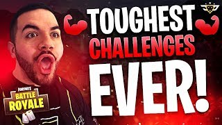 FORTNITE CHALLENGED ME TO DO THIS!!! NO GUN CHALLENGE?! (Fortnite: Battle Royale)