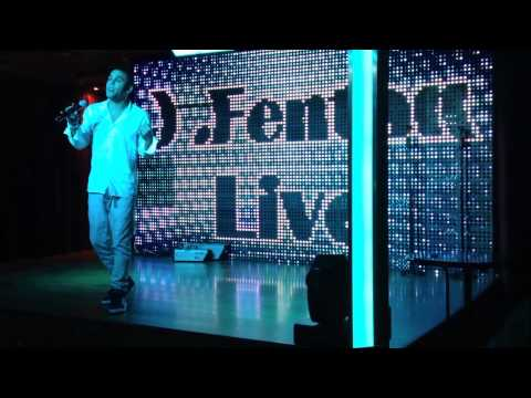 Bruno Mars Tribute J Fenton Singing Amy Winehouse Valerie Benidorm
