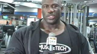Interview with Award Winning Bahamian Bodybuilder, Joel Stub