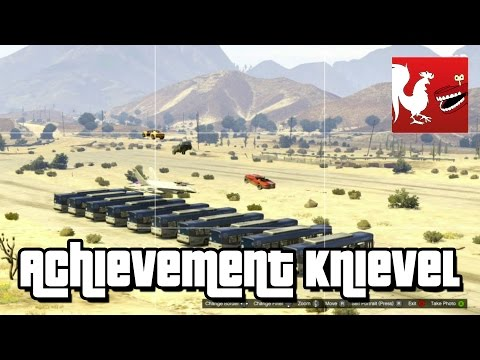 Things to do in GTA V - Achievement Knievel klip izle