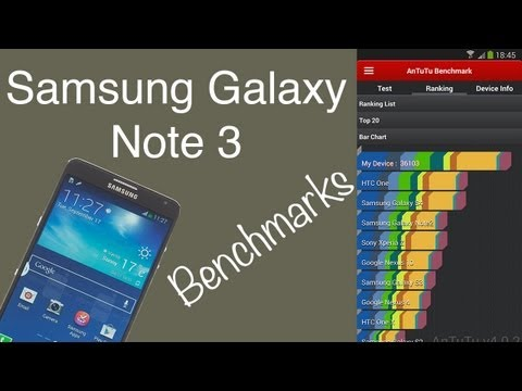 Samsung Galaxy Note 3 Benchmark Scores (Antutu, Geekbench, GFXBench, Sunspider, Browser Mark)