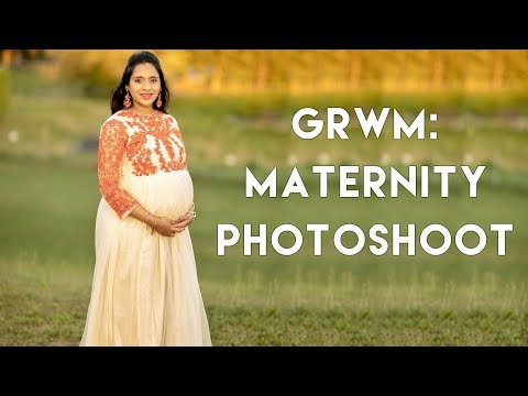 Get Ready With Me: Maternity Photoshoot-2 | deepikamakeup
