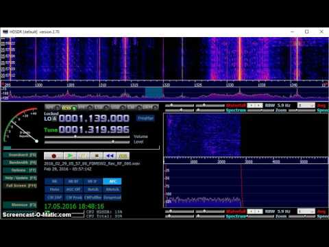 MW DX: XENET Radio Monitor 1320 kHz received in Germany