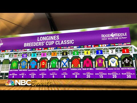 Dreading the draw | All In: Road to the Breeders' Cup Classic | NBC Sports
