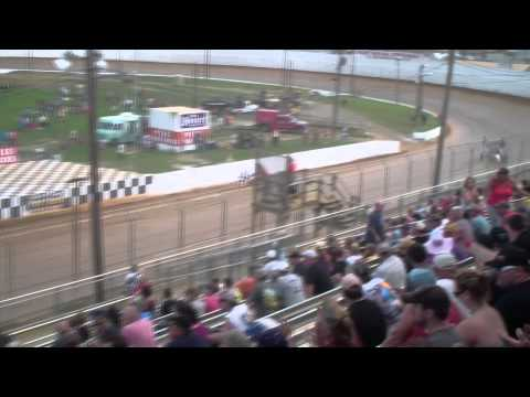 Port Royal Speedway 410 Sprint Car Highlights 9-01-14