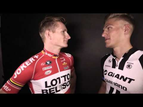 #InsideOut - Giant-Shimano vs Lotto Belisol talking of a Champs Élysées showdown