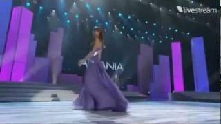Miss Universe 2011 Preliminary - ALBANIA (Xhesika Berberi)