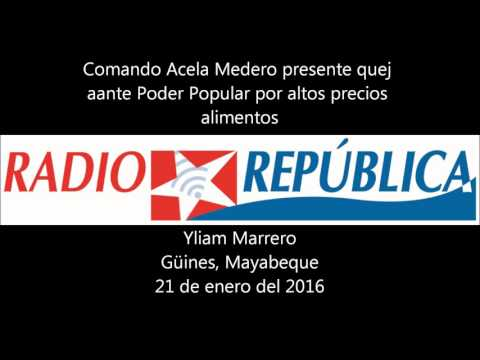 Comando Acela Medero presenta queja oficial ante Poder Popular de Güines, Cuba