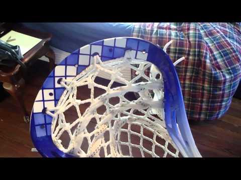 Argyle Lacrosse Head Dye