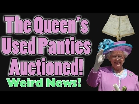 Niallbackstage Tour on Weird News Queen S Used Panties Auctioned