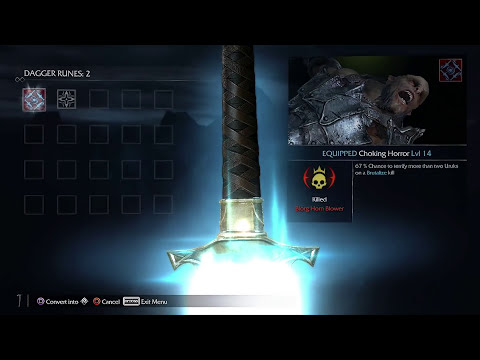 Middle Earth: Shadow Of Mordor Gameplay Walkthrough - Open World Nemesis System (PS4 Next Gen)