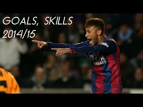Neymar Jr - Ultimate Skills Show 2014/15 HD