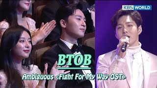 Download BTOB - Ambiguous (Fight For My Way OST) [2017 KBS Drama Awards/2018.01.07] Mp3/Mp4