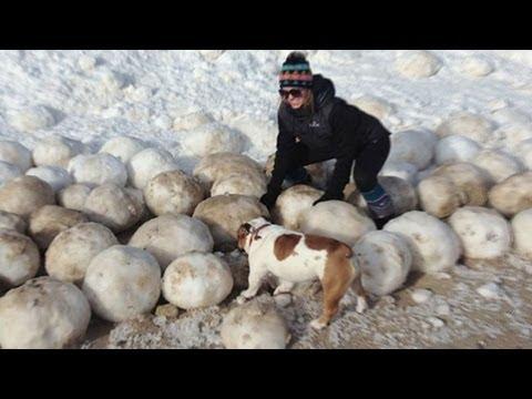 Ice Boulders Go Viral